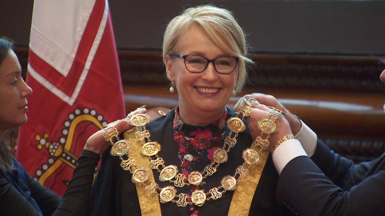 Melbourne's new Lord Mayor takes office
