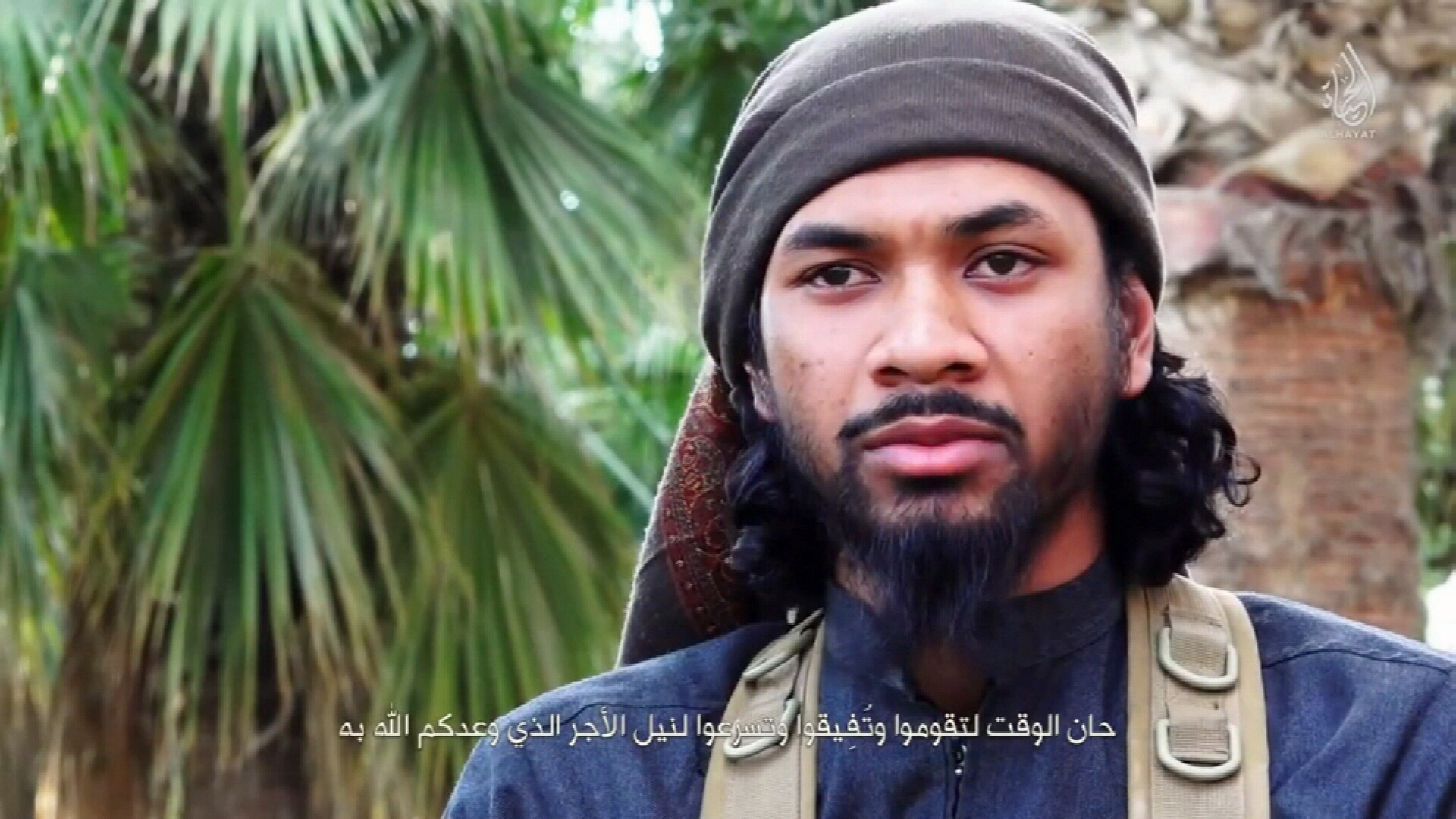 Australia's most wanted terrorist claims to have fathered three kids