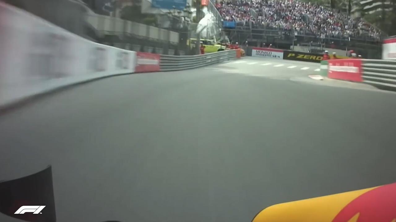 Ricciardo breaks track record in Monaco practice