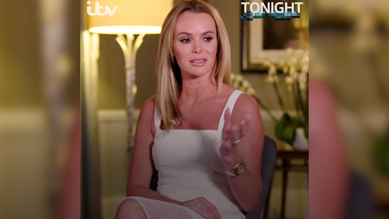 TV star Amanda Holden's emotional interview about birth of stillborn son