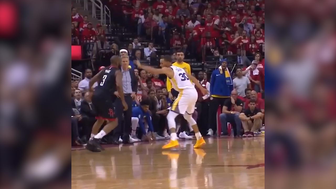 CP3 taunts Curry