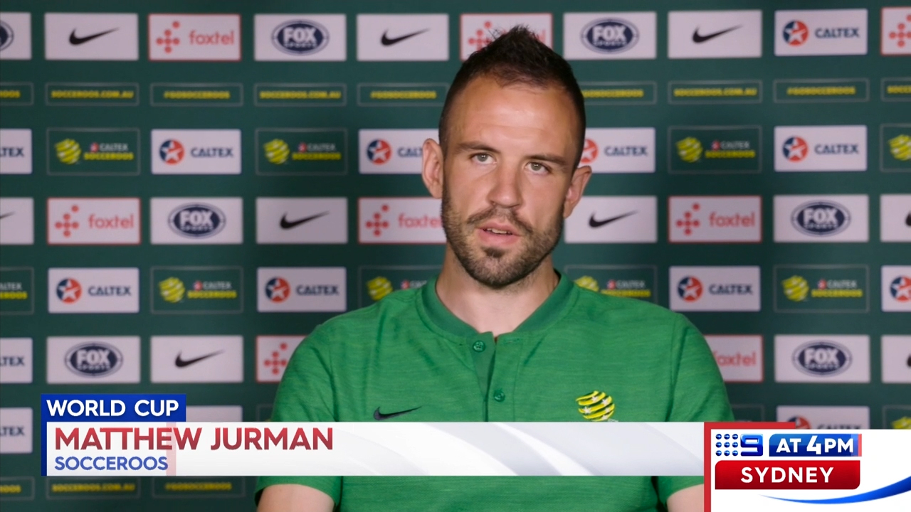 Jurman talks up Socceroos' chances