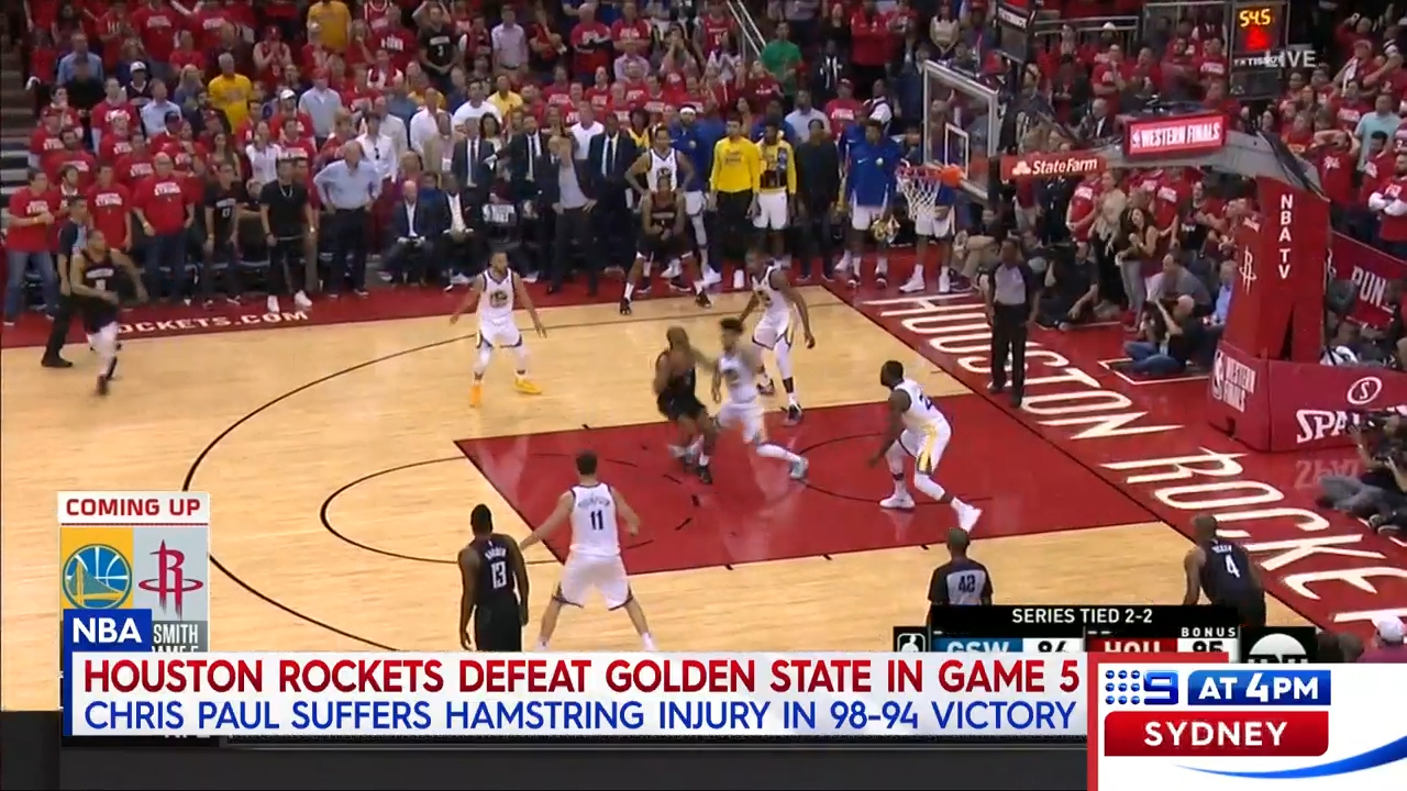 Paul injured in Rockets win