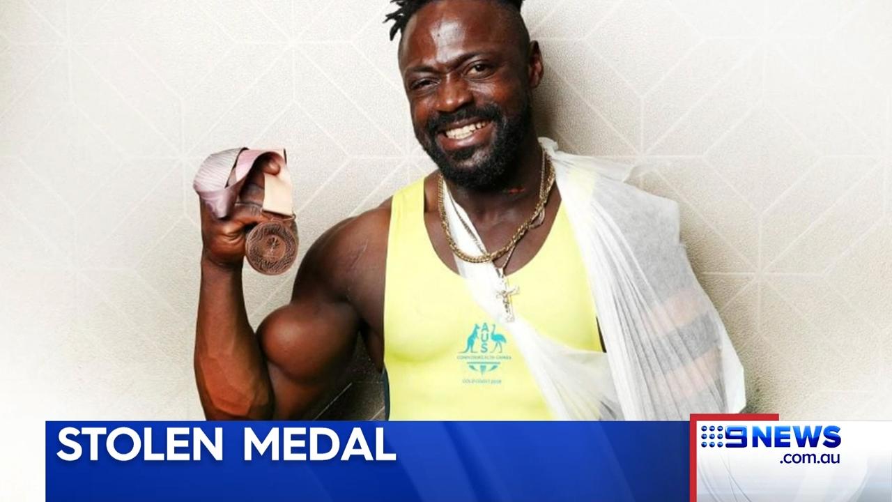 Comm Games Aussie has medal stolen
