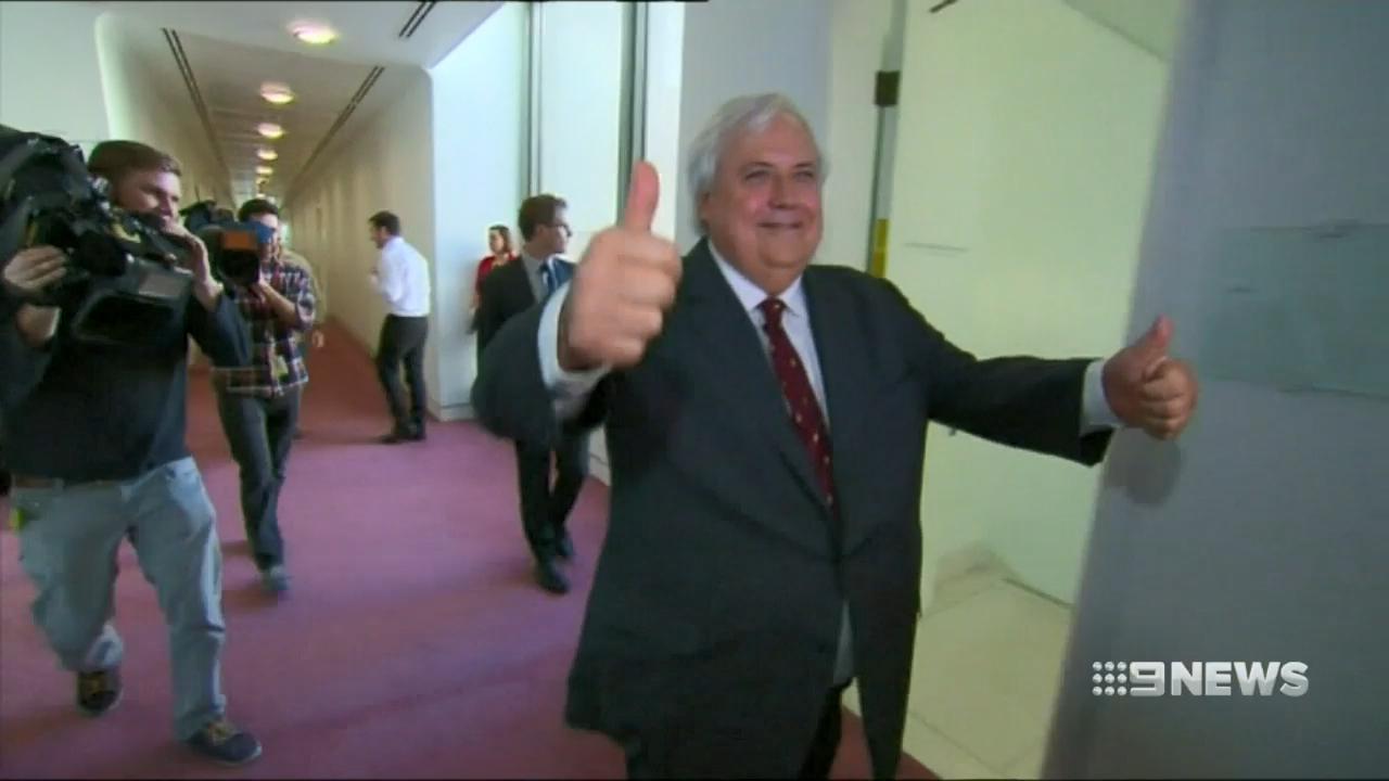 Liquidators freeze millions of dollars worth of Clive Palmer's assets