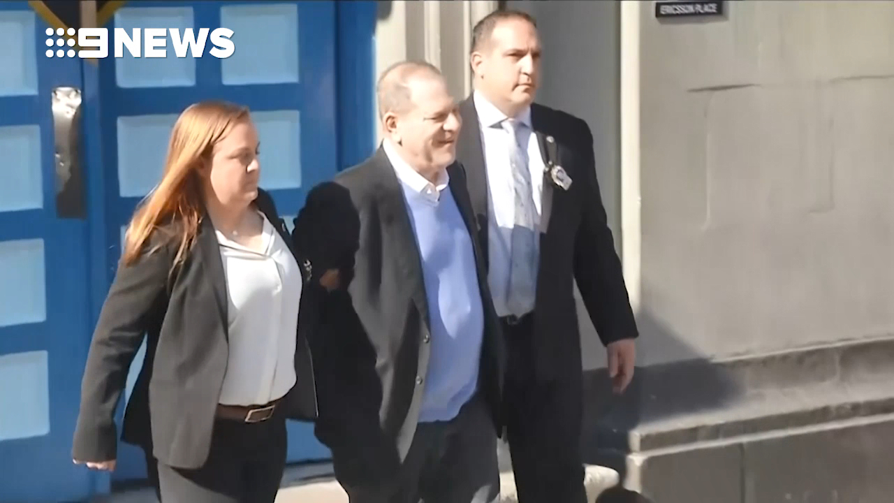 Harvey Weinstein pleads not guilty to rape and sex charges