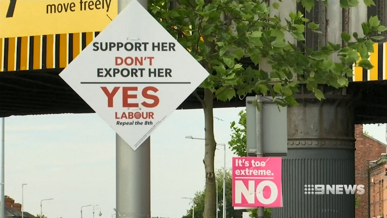 Irish vote to change country's abortion laws