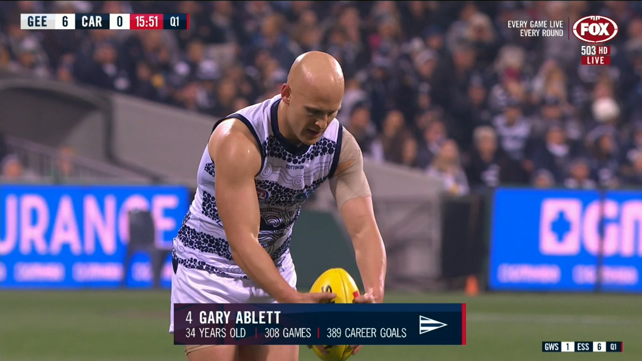 Ablett's homecoming sealed