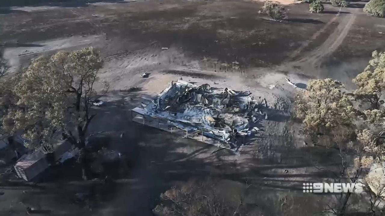 Bushfires sparked by controlled burns destroy homes