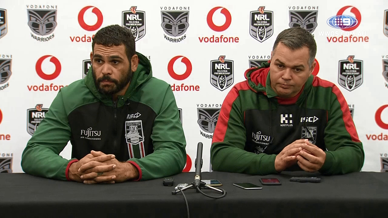 NRL Press Conference: South Sydney Rabbitohs – Round 12