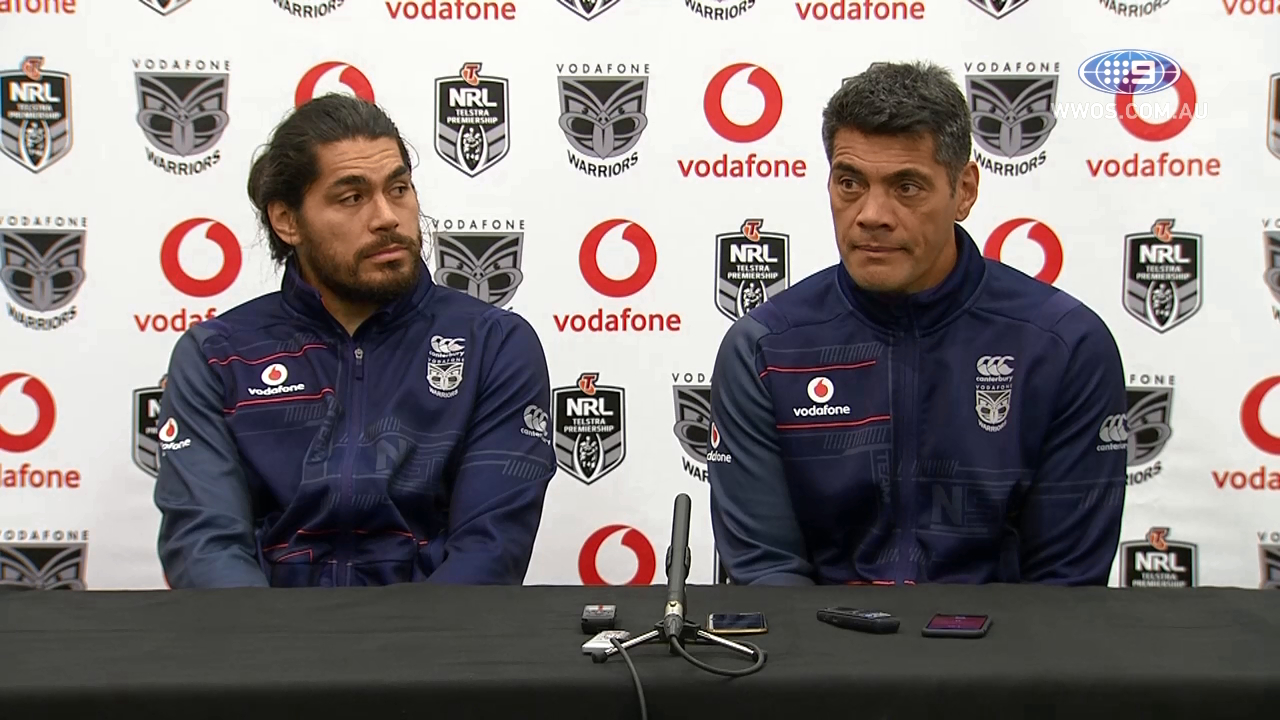 NRL Press Conference: Warriors – Round 12