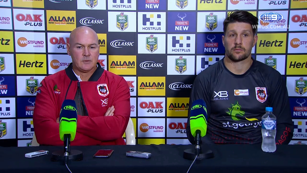 NRL Press Conference: St George Illawarra Dragons – Round 12