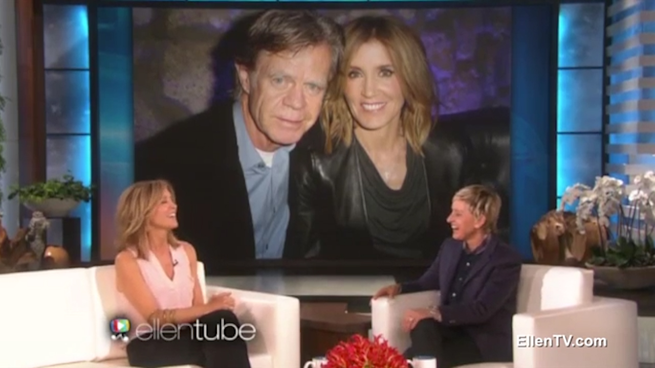 Felicity Huffman talks 17 year marriage to William H Macy