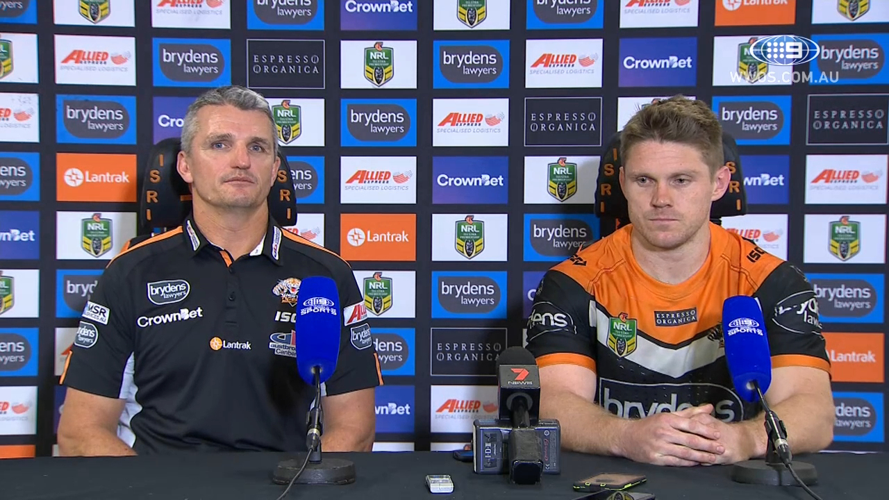 NRL Press Conference: Wests Tigers - Round 12