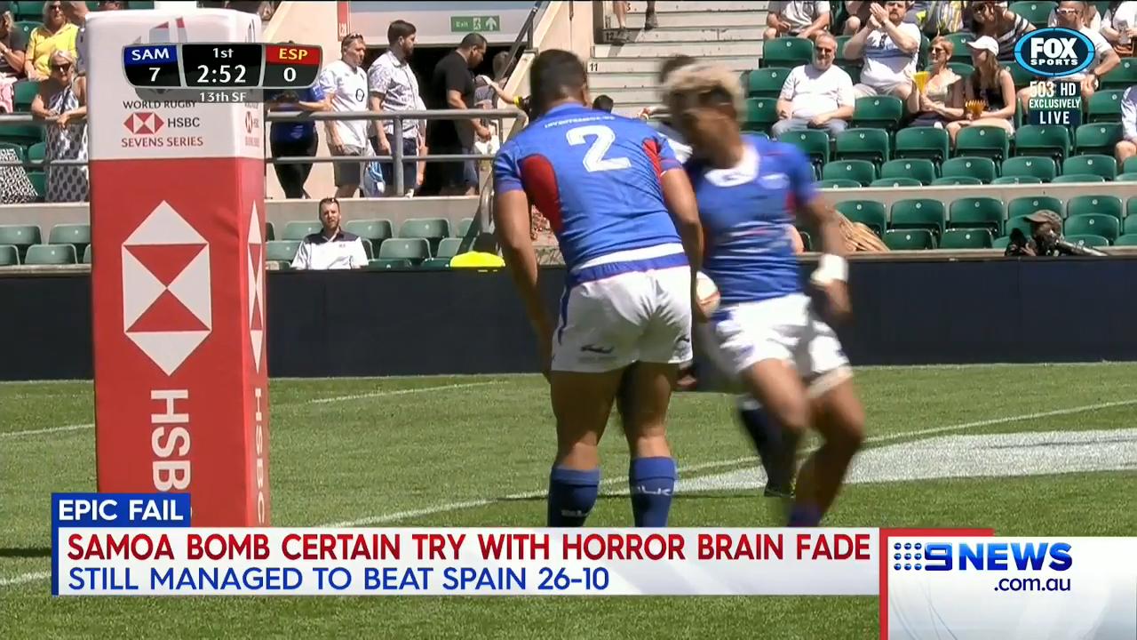 Brain fade costs Samoa a try