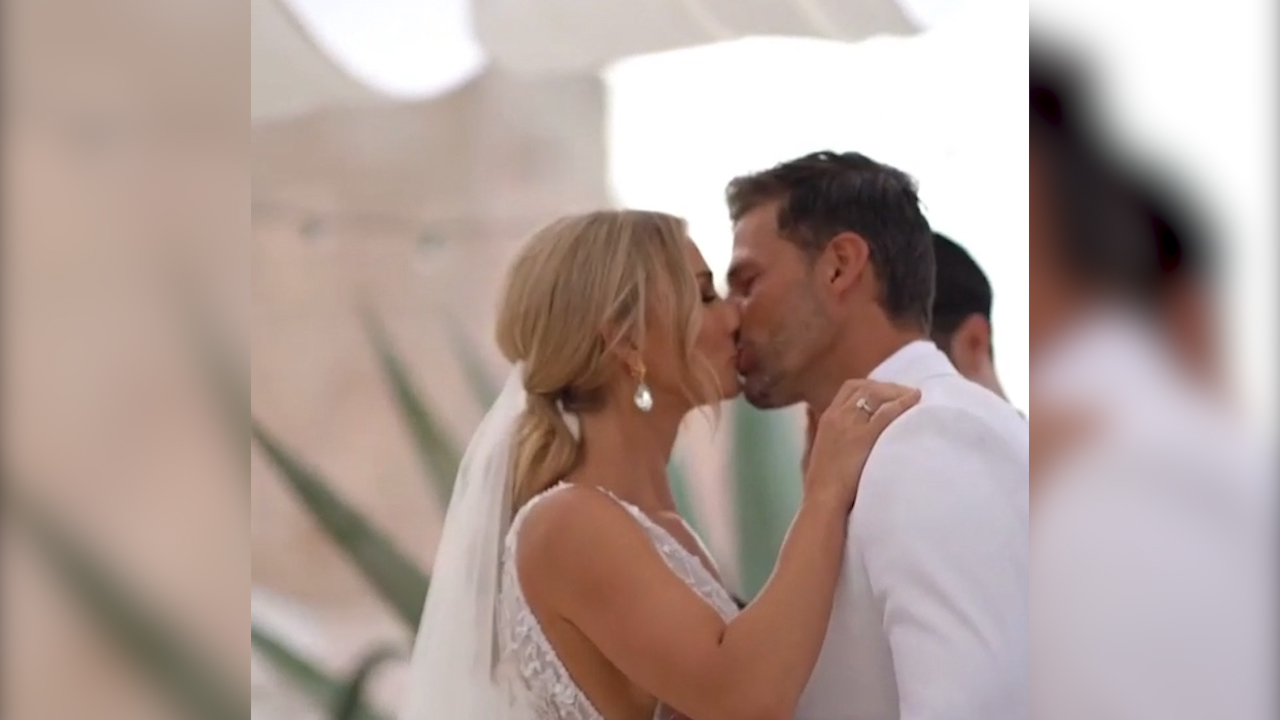 'The Bachelor' Tim Robards and Anna Heinrich's wedding