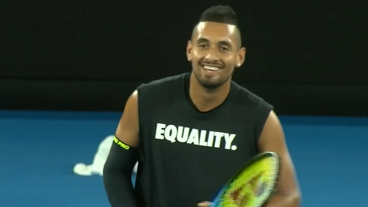 Kyrgios under fire for Twitter attack on Fraser