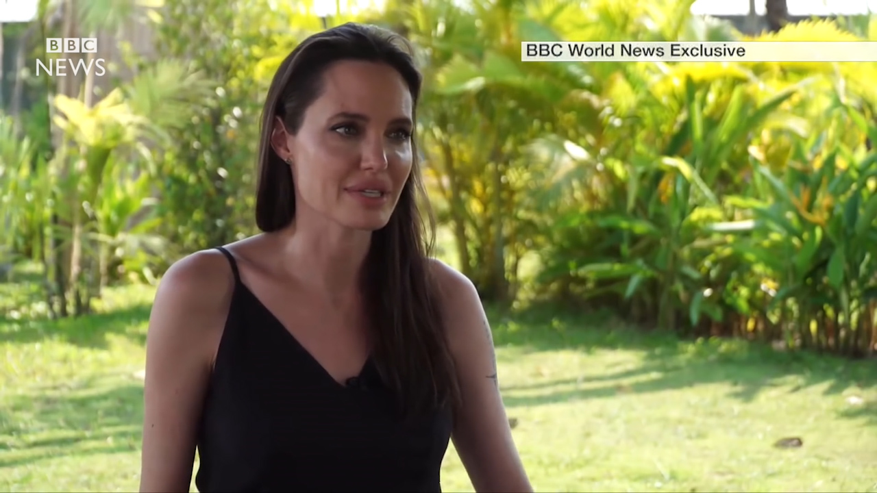 Angelina Jolie speaks out about her divorce to Brad Pitt