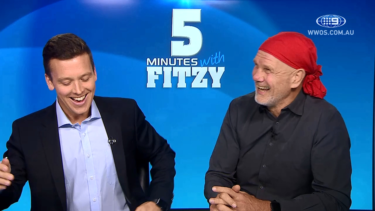5 Mins with Fitzy: It's not safe. I want it stopped