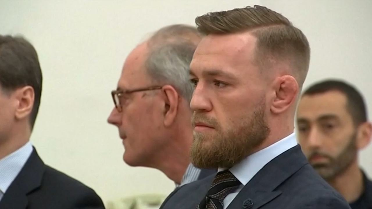 McGregor fronts US court