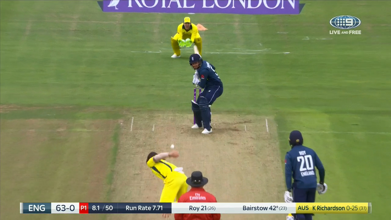 Richardson gets Bairstow