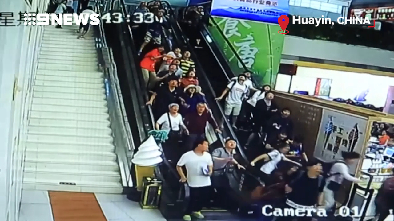 Ceiling decoration collapses and crushes tourists