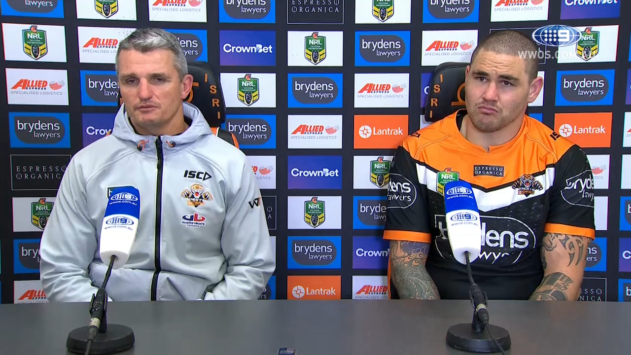 NRL Press Conference: Wests Tigers – Round 15