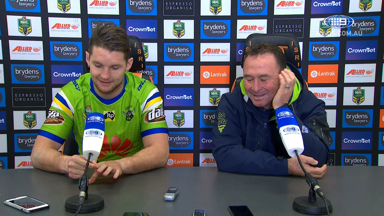 NRL Press Conference: Canberra Raiders – Round 15