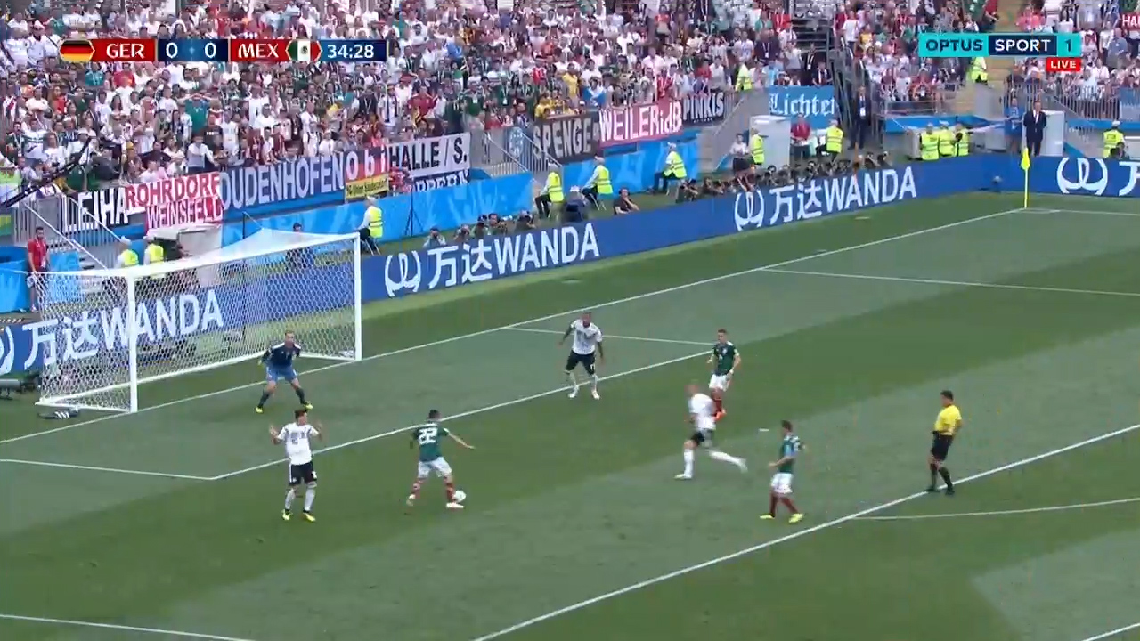 Mexico stun world champs Germany