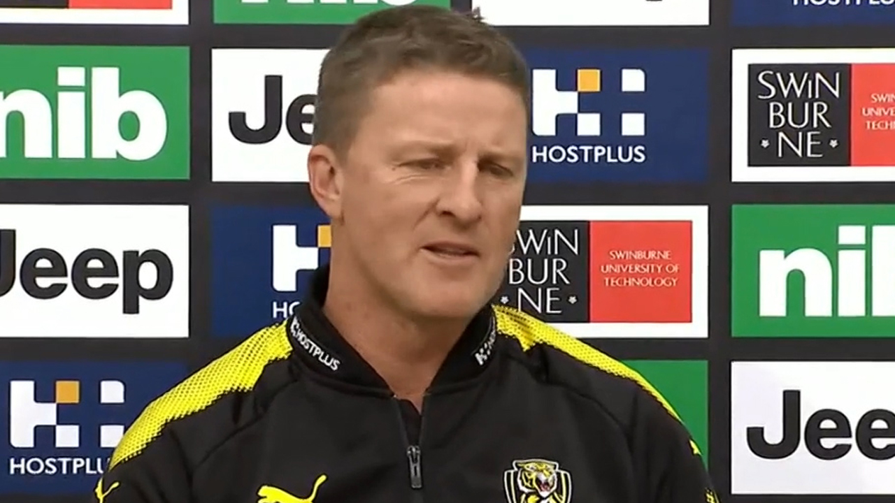 Richmond coach defends star over staging claims