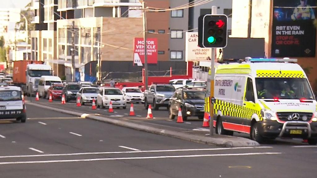 Pedestrian critical after struck by car