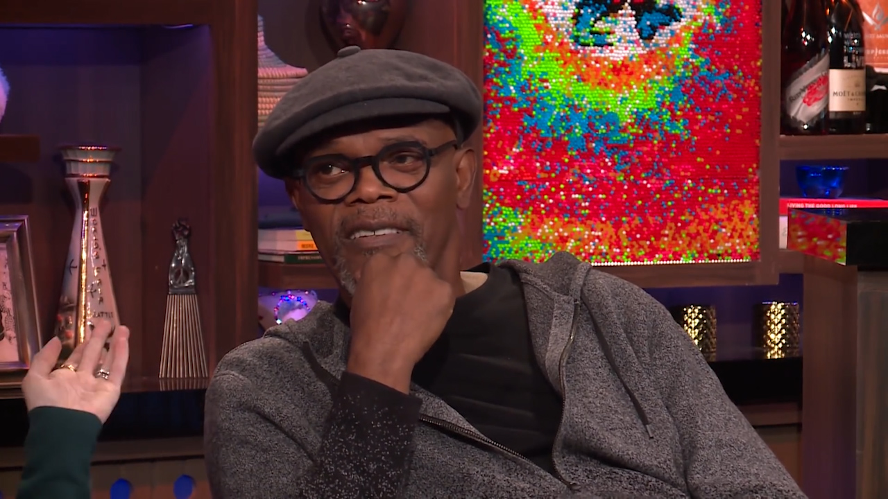 Samuel L Jackson addresses Twitter feud with Donald Trump
