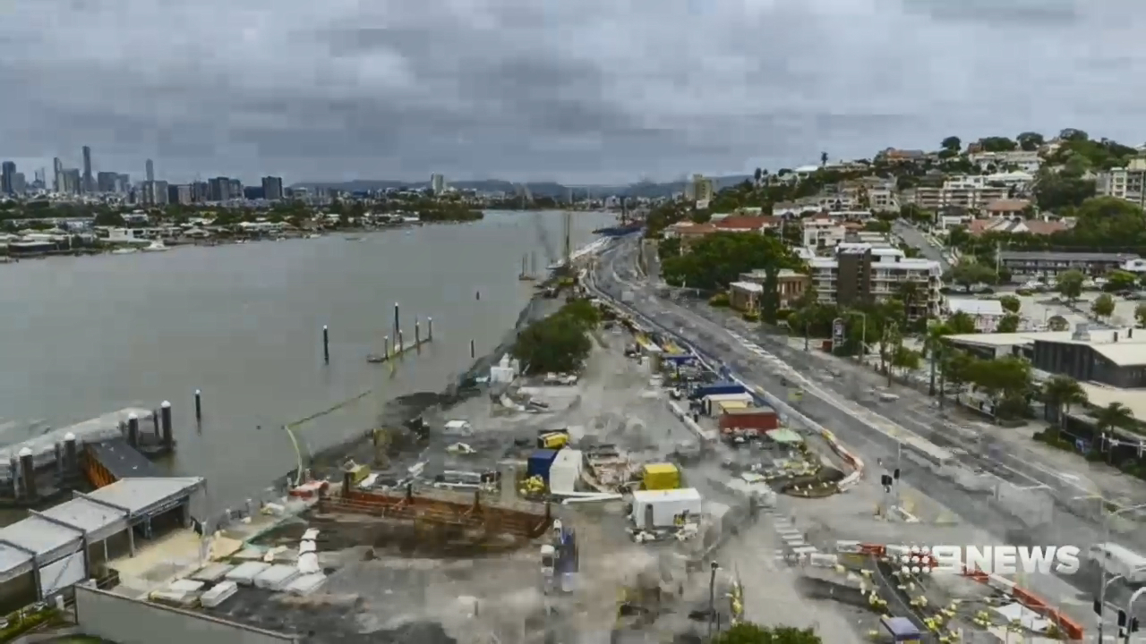 Kingsford Smith Drive closer to completion