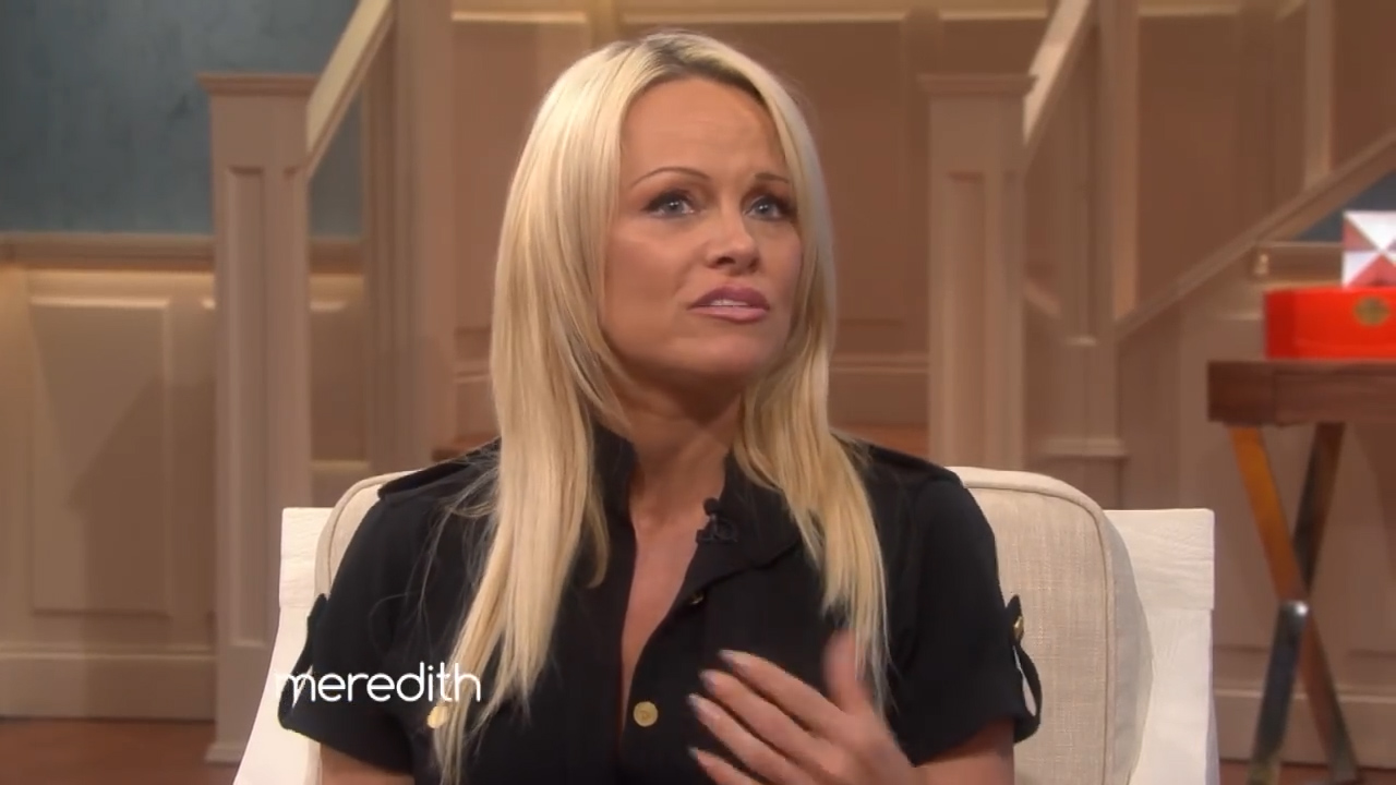 Pamela Anderson talks co-parenting with Tommy Lee