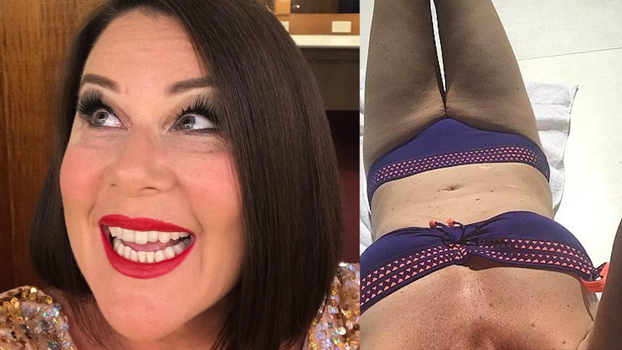 Julia Morris reveals why she took down an Instagram bikini pic