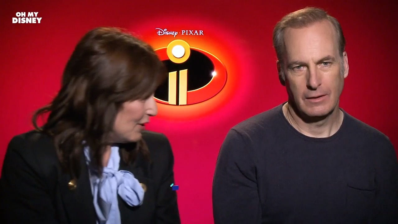 Bob Odenkirk and Catherine Keener discuss playing siblings in Incredibles 2