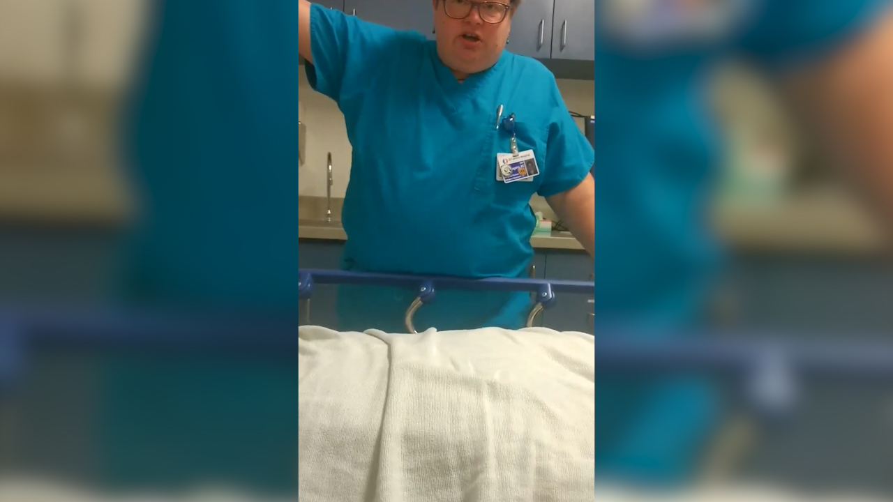 Doctor asks patient 'are you dead sir?'