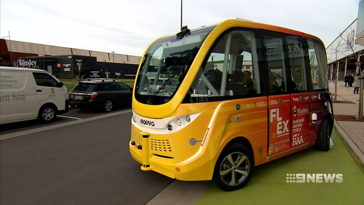 Driverless bus to take on South Australia