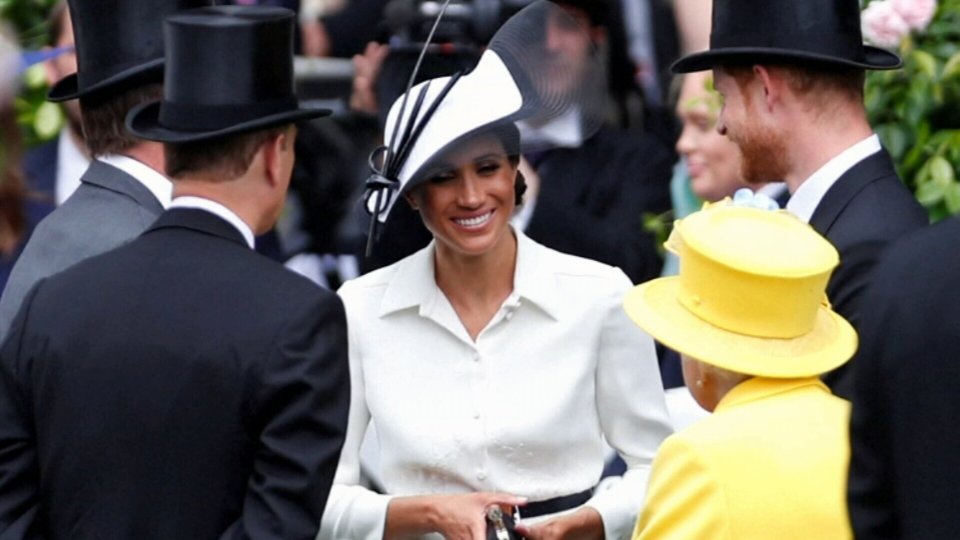 Meghan Markle makes Royal Ascot debut