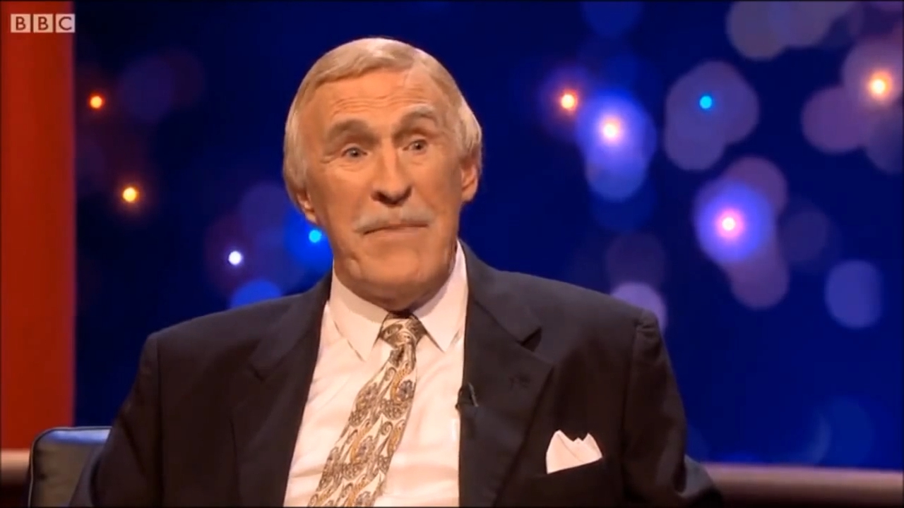 Sir Bruce Forsyth on the Michael Mcintyre show