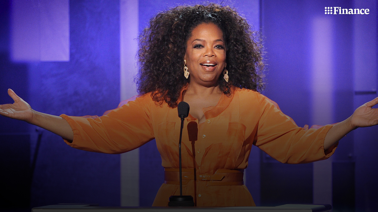 Oprah Winfrey is worth a cool $3.7 billion