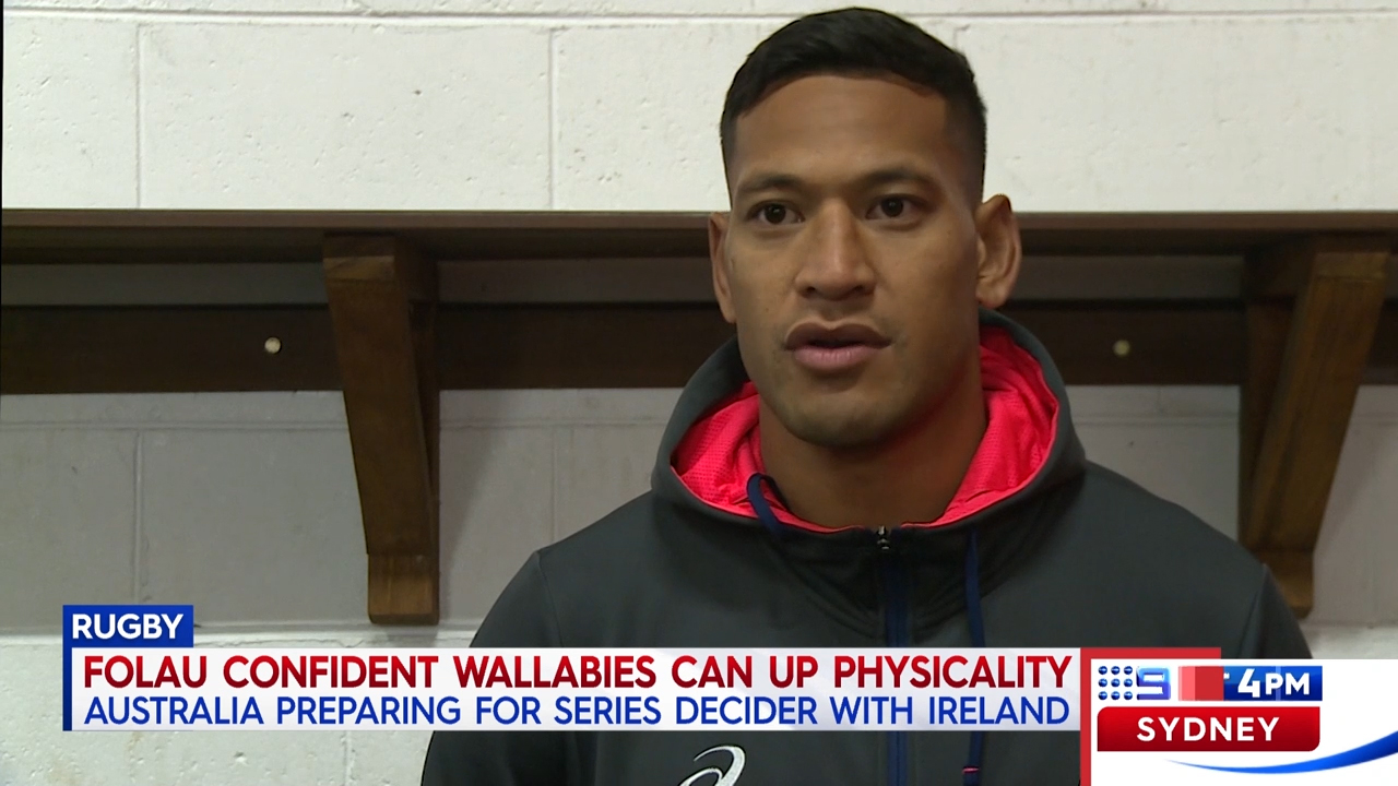 Folau laments 'blocking tactics'