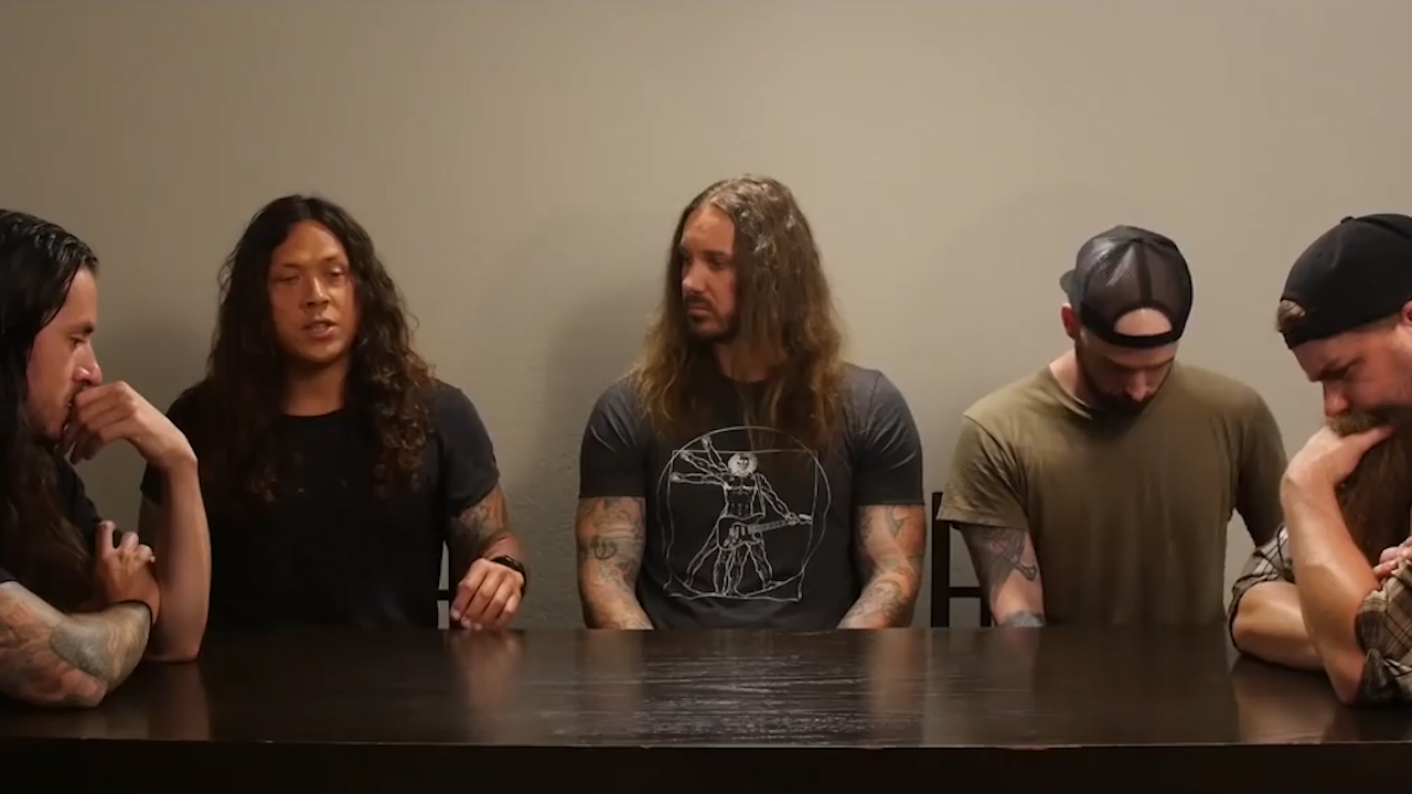 The band As I Lay Dying discuss getting back together