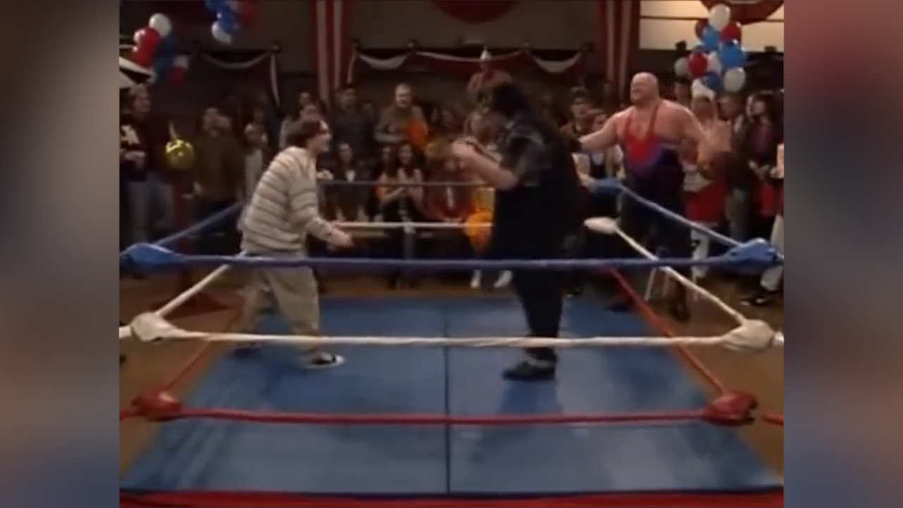 Big Van Vader appears on 'Boy Meets World'