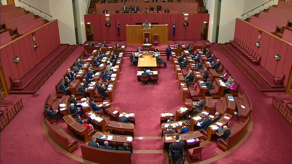 Coalition's income tax cuts package passes Senate
