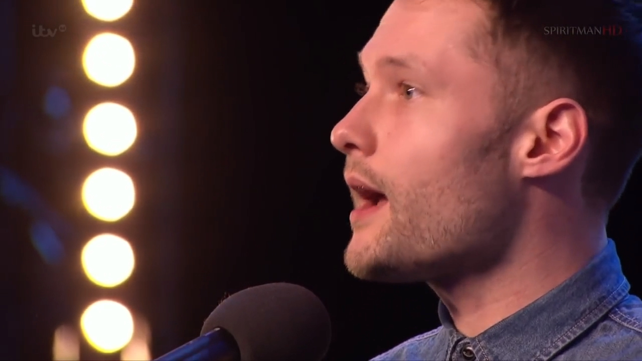 Calum Scott's audition for Britain's Got Talent