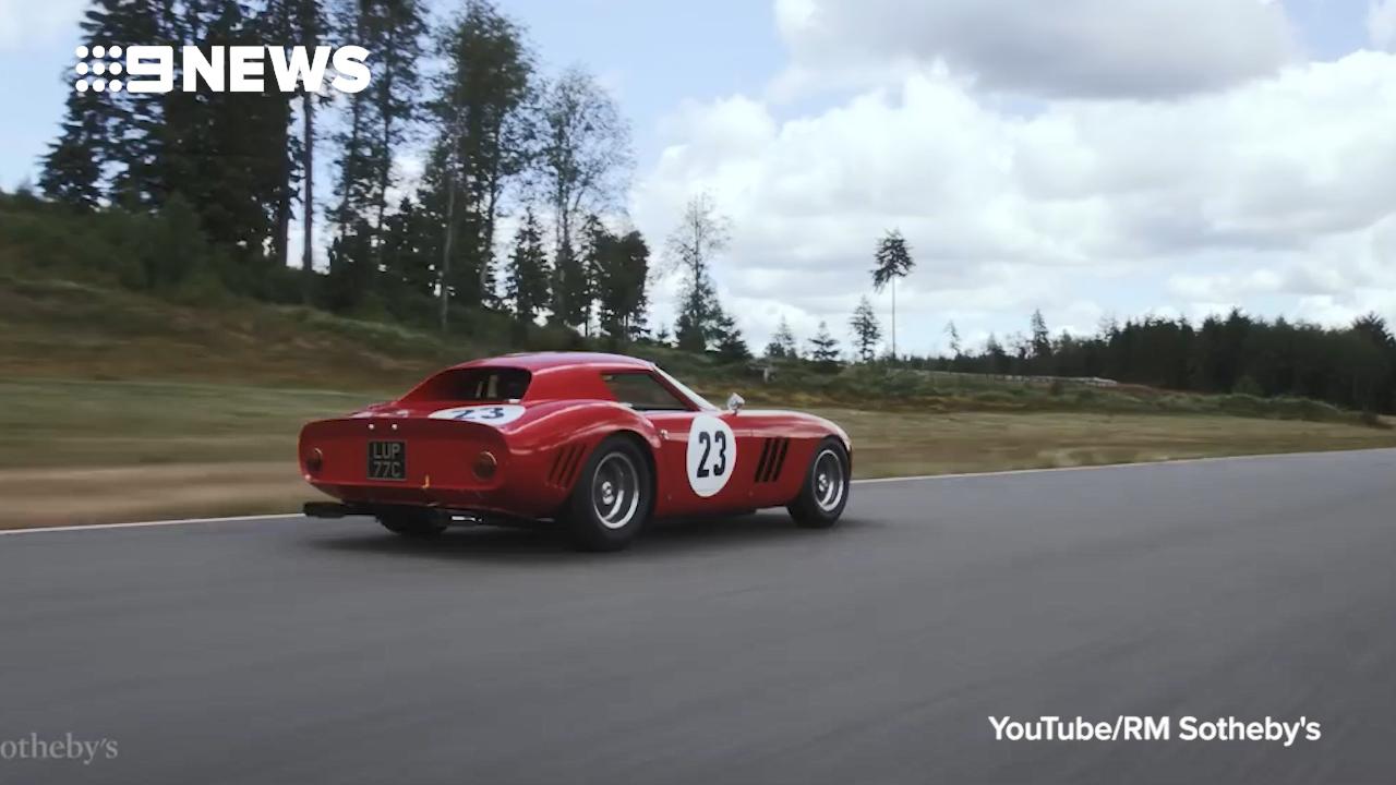 Classic Ferrari comes with record price tag