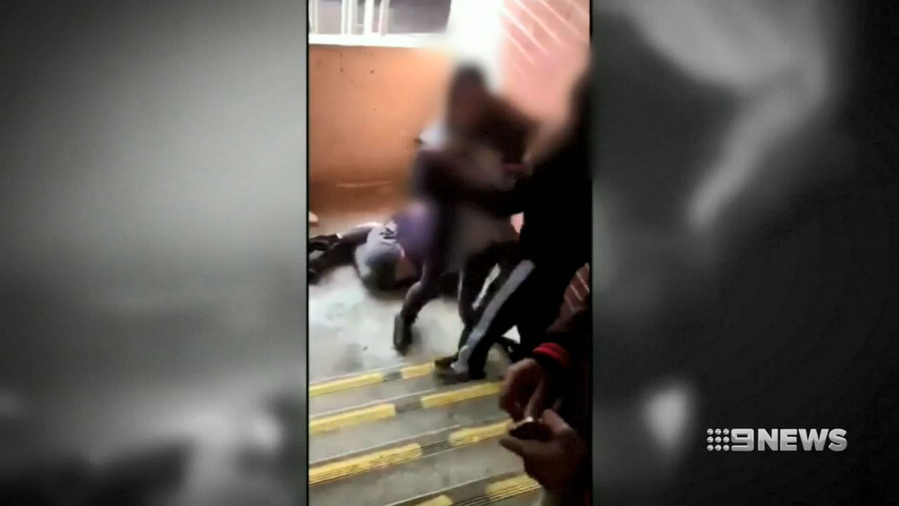 13-year-old charged over schoolyard brawl