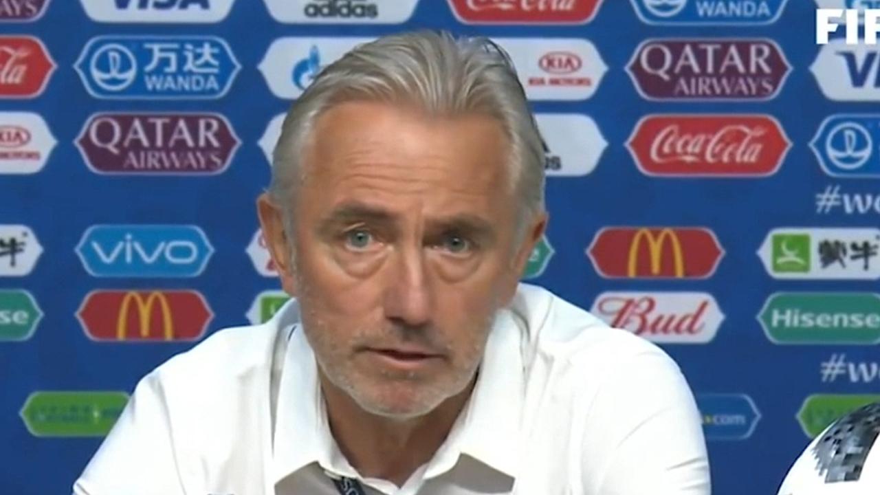 We deserved to win: Van Marwijk