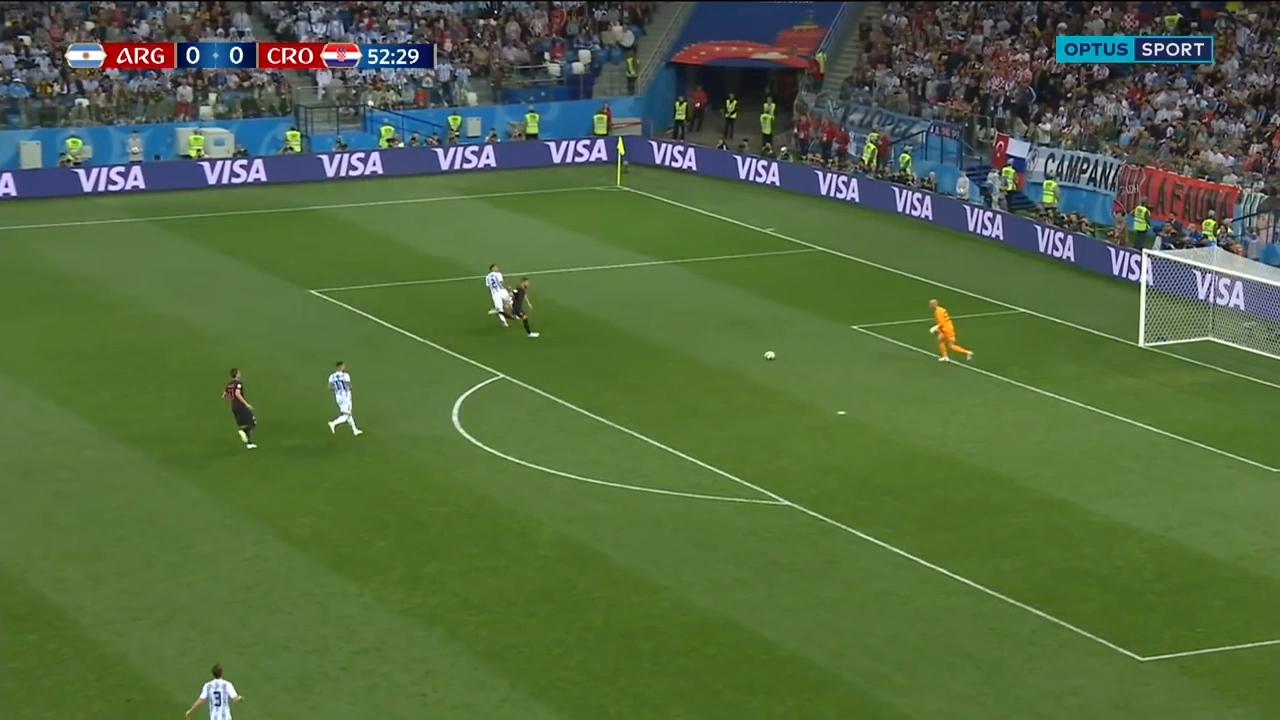 Argentina red-faced after goalkeeper howler